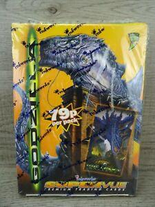 Godzilla Supervue Movie Trading Cards Box Inkworks 1998 Sealed 36 Packs #2