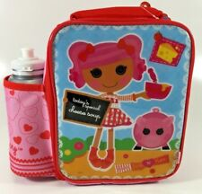 LALALOOPSY KIDS INSULATED LUNCH BAG & DRINK BOTTLE
