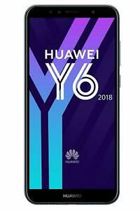 Huawei Y6 2018 Black 16GB 2GB 4G LTE NFC 13MP Android Smartphone - Tesco Locked