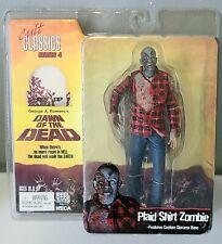 Neca Reel Toys Cult Classics Series 4 Plaid Shirt Zombie Dawn of the Dead 2006