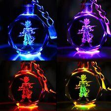 Dragon Ball Dragonball Z Super Saiyajin Son Goku Crystal LED Schlüsselanhänger