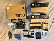 Nikon D850 Dslr Digital Camera Kit - Barely Used Body - New Accessories