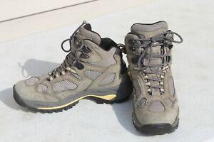 Vasque Womens Breeze 7463 Gray Hiking Boots Gore-Tex XCR Leather Vibram Sz 10 M