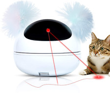New listing Q-Hillstar Automatic Laser Cat Toy Interactive Smart Kitten Laser Toy for Indoor
