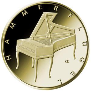 Deutschland 50 Euro 2019 Hammerflügel J - Musikinstrumente (2.) - 1/4 Oz Gold ST