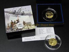 50 Euro 2018 Gold PP Rosinenbomber Dakota - proof -