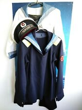 Vintage USSR Sailor Navy military uniforms shirt tunic Officer Soldier Set 4
