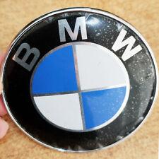 COPPIA STEMMA BMW 82mm sottocosto leggi emblem Anteriore