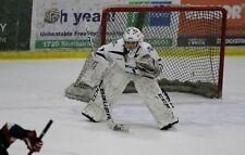 New listing Hockey Goalie Leg Pads Ccm Premier R1.9 Size 35 +1 White/Black