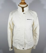PUMA Women's BMW Sauber F1 Team Full Zip Jacket Size S Small White