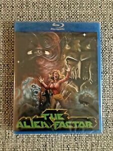 NEW - THE ALIEN FACTOR - BLU-RAY - LIMITED EDITION 1000 SIGNED BY GEORGE STOVER