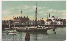 Lowestoft, Yacht Basin, Club House & Royal Hotel 1906 Postcard, B458