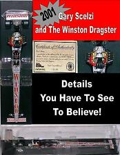 Winston Dragster Gary Scelzi Top Feul Race Car Rare NOS 2001 1:24 Diecast Model