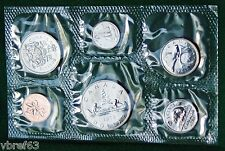 1978 Canada Prooflike PL set - 6 perfect coins in org packaging and certificate