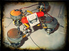 Epiphone Les Paul 50s Orange Drop Wiring Upgrade Harness CTS Pots SHORT SHAFT
