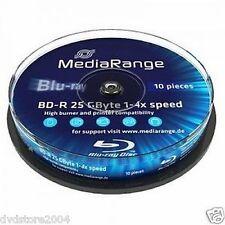 Blu-ray BD-R MediaRange per l'archiviazione di dati informatici per 25GB