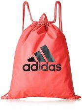 58db2028f5 adidas Performance Womens 3 Stripe Sports Drawstring Gym Backpack Rucksack  Bag
