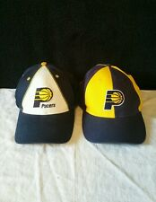 Indiana Pacers Snapback Hats NBA Basketball Twins Enterprises Home and Away Caps