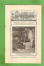 #D280.  NSW SCHOOL MAGAZINE  Cl;ass V  August  1st  1936, KING CHARLES II COVER