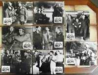 8 Original Aushangfotos Schrecken der Division Jerry Lewis Dean Martin s/w