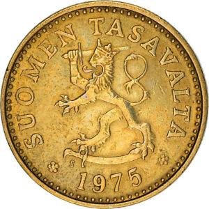 [#383671] Monnaie, Finlande, 10 Pennia, 1975, TTB, Aluminum-Bronze, KM:46