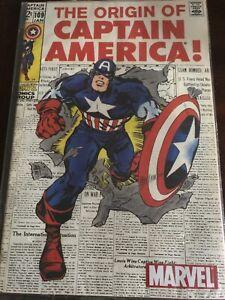 The Origin of Captain America #109  Reprint 2002