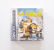 Juego Salvaje (The Wild) Nintendo Game boy Advance NUEVO! (Original) (Esp) (GBA)