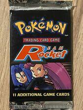 Unlimited 1999 Team Rocket Factory Sealed Pokemon Booster Box Pack Design 3