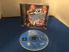 PLAYSTATION WCW / NWO THUNDER GAME RATED E