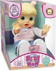 Baby Wow WALKING MEGAN Baby Doll - Learns to Stand UP and Walk!