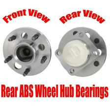 2- REAR Wheel Hub Bearing Assembly 97-99 for Chevrolet Monte Carlo With ABS Only