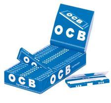 25 x 50 Blatt OCB BLAU Drehpapier Papers Blättchen Zigarettenpapier