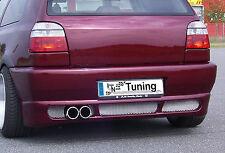 RS Heckstoßstange Stoßstange mit Kennzeichenaussparung für VW Golf 3 / Cabrio 1H
