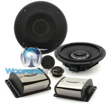 "IMAGE DYNAMICS IDQ65CS 6.5"" 125W RMS COMPONENT SPEAKERS CROSSOVERS TWEETERS NEW"