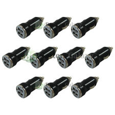 10X Fast Dual 2 Port Car Charger 2.1Amp for Apple iPhone 4 / 4S / 5 / 5C / 5S/SE