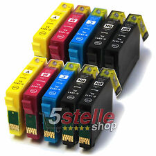 KIT 10 CARTUCCE PER EPSON EXPRESSION HOME XP-225 XP-322 XP-325 XP-422 XP-425