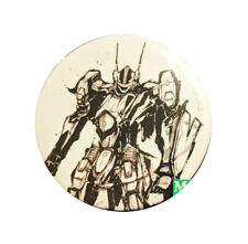 Macross F Frontier 10th Anniversary Ink Painting Character Can Badge Pin VF-25