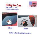 BABY IN Car STICKER DECAL VINYL US seller