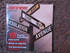 """V/A """"VIVE LE ROCK PRESENTS DESOLATION AVENUE"""" 2013 15TRX.STILL SEALED SAMPLER CD"""
