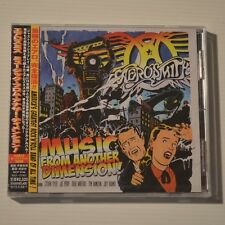 AEROSMITH - MUSIC FROM ANOTHER DIMENSION - 2012 JAPAN CD