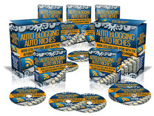 Auto Blogging Riches - Make More Money In Less Time - Automated Blogging  (CD)