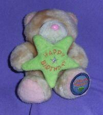 "FOREVER FRIENDS  TEDDY BEAR ,HOLDING  HAPPY BIRTHDAY""""  STAR (#B53-43)"