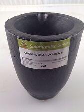Salamander Clay Graphite Crucible Super A2 Melt Gold Silver Brass Morganite