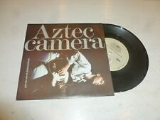 "AZTEC CAMERA - Somewhere In My Heart - 1988 UK solid centre 7"" vinyl single"