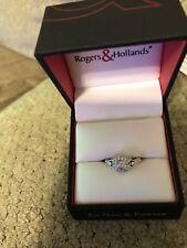 halo engagement ring white gold
