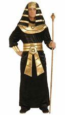 Pharaoh Pyramid King Tut Costume Ancient Egypt Egyptian Adult Men's Black std