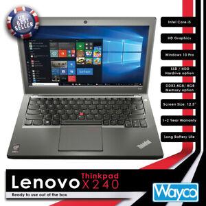 Lenovo Thinkpad X240 BRAND NEW i5 Core Turbo 8GB 1TB SSD Options Laptop AAA++ UK
