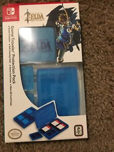 RDS Industries Game Traveler Protection Pack for Nintendo Switch Link Blue —361