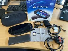 Sony PS VITA Slim PCH-2003 - Extra Memory Cards - Marvel Game - Travel Case