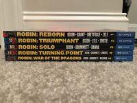 Robin TPB Lot By Chuck Dixon Vol. 1 2 3 4 5 (Reborn, Triumphant, Solo, Turning)